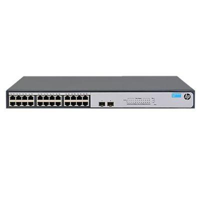 Коммутатор HPE 1420-24G-PoE+ JH019A неуправляемый 19U 24x10/100/1000BASE-T - Фото 1