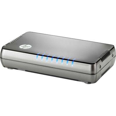 Коммутатор HPE 1405 8G v3 JH408A неуправляемый настольный 8x10/100/1000BASE-T - Фото 1