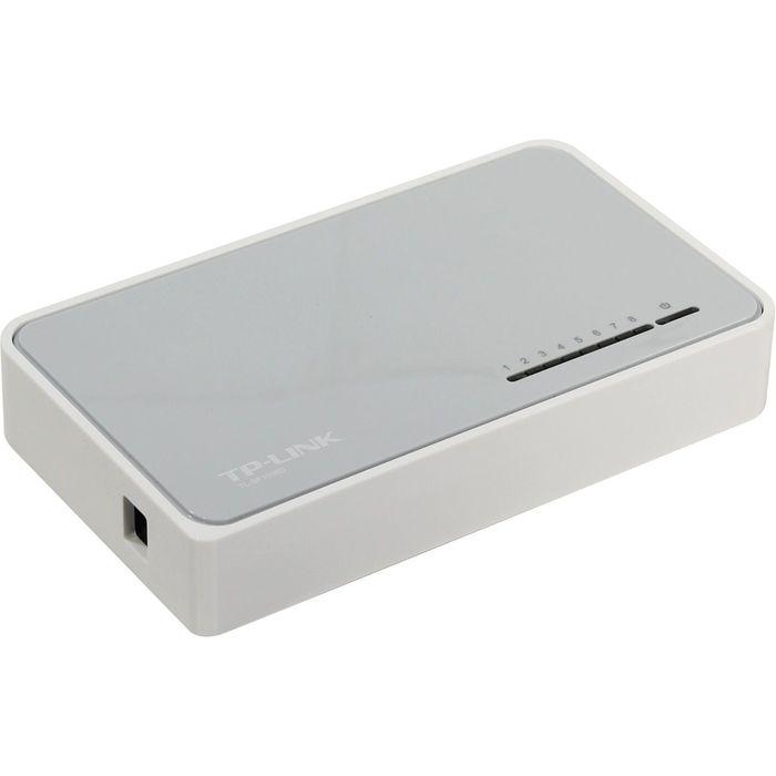 Коммутатор TP-Link TL-SF1008D неуправляемый настольный 8x10100BASE-TX