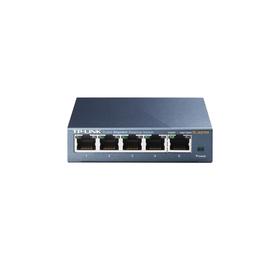 Коммутатор TP-Link TL-SG105 неуправляемый настольный 5x10/100/1000BASE-T