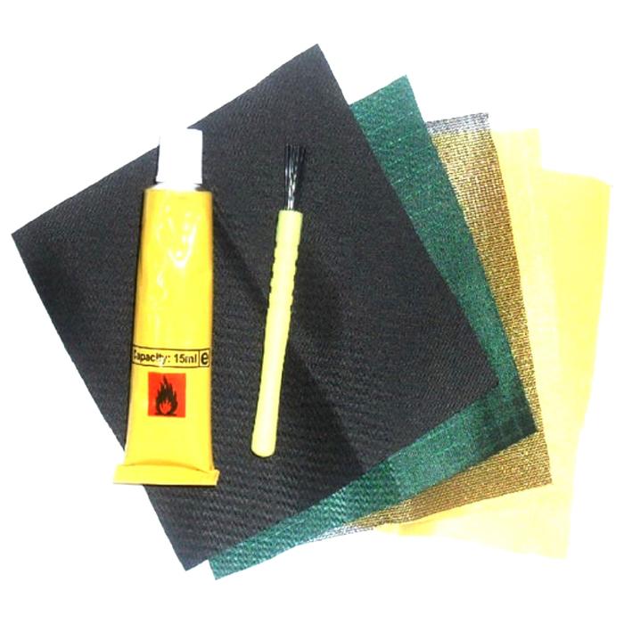 Ремкомплект для палатки заплаты всех тканей клей