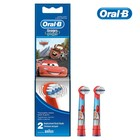 Насадка для детской зубной щётки Oral-B Kids Stages Cars, Miki, Princess, 2 шт, МИКС