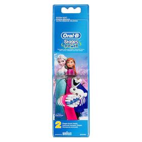 Насадка для детской зубной щётки Oral-B Kids Stages Frozen, 2 шт