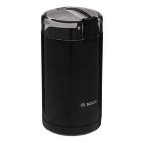 Кофемолка Bosch MKM 6003, электрическая, 180 Вт, 75 г, чёрная