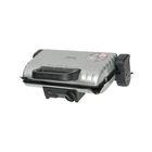 Гриль Tefal GC205012, 1600 Вт, антипригарное покрытие, съёмные панели, серебристый