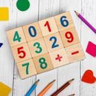 """Кубики """"Весёлый счёт"""", 12 шт., кубик: 3,8 × 3,8 см"""