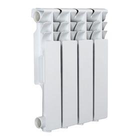 Радиатор Tropic 350x80 мм алюминиевый, 4 секции