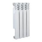 Радиатор Tropic 500x80 мм алюминиевый, 4 секции