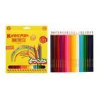Карандаши 24 цвета «Каляка-Маляка», шестигранные