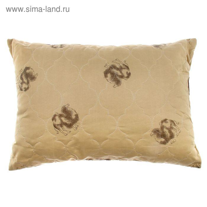 Подушка Адамас Сонечка Верблюжья шерсть 50*70см, чехол полиэстер, сумка