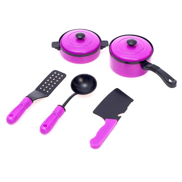 Набор посуды Мини шеф-2, 5 предметов