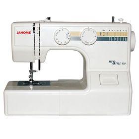 Швейная машина Janome MS 100, 13 операций, обметочная, потайная, эластичная строчка