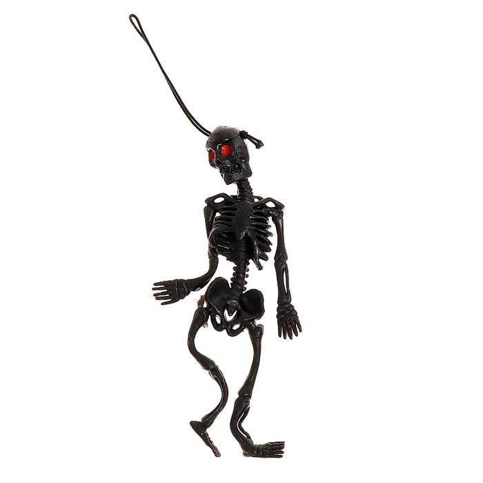 Подвеска Скелет, цвет чёрный
