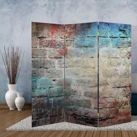 Ширма 'Уличная стена', 160 × 150 см Ош