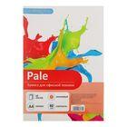 Бумага цветная А4, 50 листов Calligrata Пастель, 80 г/м², оранжевая
