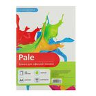 Бумага цветная А4, 50 листов Calligrata Пастель, 80 г/м², зелёная