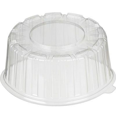 Крышка к контейнеру Т-165КН, круглая, цвет прозрачный, размер 18,5 х 18,5 х 6,95 см, объём 800 мл - Фото 1