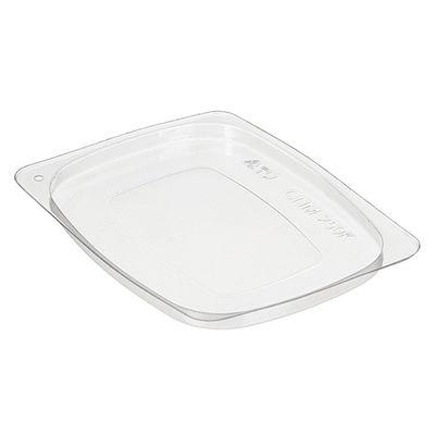 Крышка к контейнеру СПМ-250К, прямоугольная, цвет прозрачный, размер 10,7 х 8,1 х 0,6 см - Фото 1