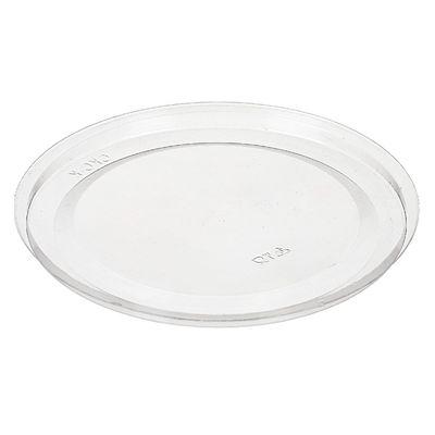 Крышка к контейнеру СКС-К, круглая, цвет прозрачный, размер 15 х 15 х 0,7 см - Фото 1