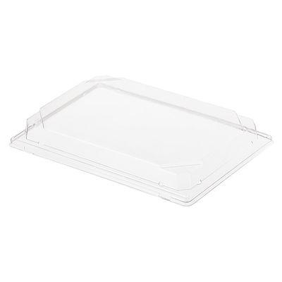 Крышка к контейнеру С-25К, прямоугольная, цвет прозрачный, размер 24 х 16,8 х 2,93 см - Фото 1