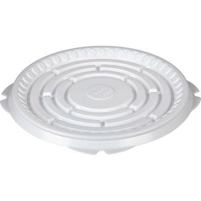 Контейнер для торта Т-230Д, круглый, цвет белый, размер 21,1 х 21,1 х 0,8 см - Фото 1