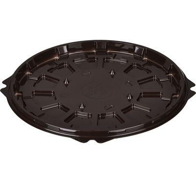 Контейнер для торта Т-192ДШ, круглый, цвет коричневый, размер 19,2 х 19,2 х 1,05 см - Фото 1