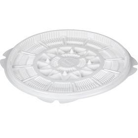 Контейнер для торта Т-023ДШ, круглый, цвет белый, размер 23 х 23 х 1,6 см
