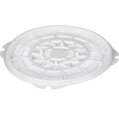 Контейнер для торта Т-023ДШ, круглый, цвет белый, размер 23 х 23 х 1,6 см - Фото 1