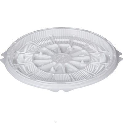 Контейнер для торта Т-019ДШ, круглый, цвет белый, размер 19,2 х 19,2 х 1,05 см - Фото 1
