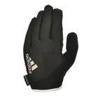 Перчатки для фитнеса (с пальцами) Adidas Essential черно/белые размер S