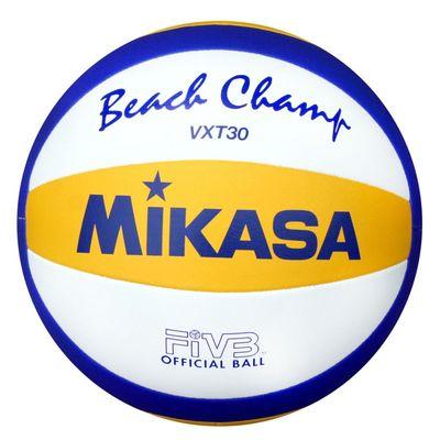 Мяч волейбольный пляжный Mikasa VXT30, размер 5, машинная сшивка - Фото 1