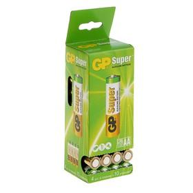 Батарейка алкалиновая GP Super, AA, LR6-40BOX, 1.5В, набор, 40 шт.