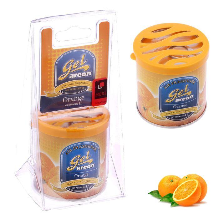 Ароматизатор Areon GEL CAN Blister, апельсин