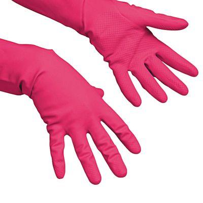 Перчатки Vileda для профессиональной уборки, многоцелевые, размер М, цвет красный - Фото 1