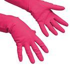 Перчатки Vilenda для профессиональной уборки, многоцелевые, размер L, цвет красный