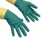 Перчатки Vileda для профессиональной уборки, усиленные L, цвет зелёный - Фото 1