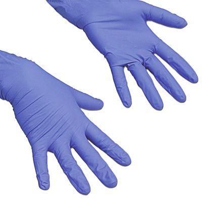 Перчатки для профессиональной уборки «ЛайтТафф», размер L, цвет сиреневый - Фото 1