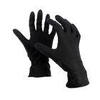 """Перчатки нитриловые, размер S, """"Стандарт"""", 100 шт/уп, цвет чёрный"""