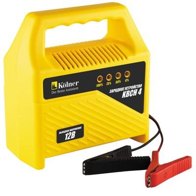 Зарядное устройство для аккумуляторов Kolner KBCН 4, 220В, выходное напряжение 12В/2,8 А - Фото 1