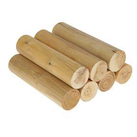 Дрова березовые оцилиндрованные в сетке 30 см. по 7 шт. Ош