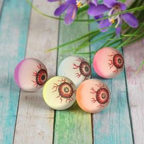 Мяч каучуковый «Глаз», цвета МИКС 3,2 см Ош
