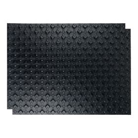 Маты STOUT, для теплого пола с бобышками, черный, 1100х800х20, SMF-0001-110802 Ош