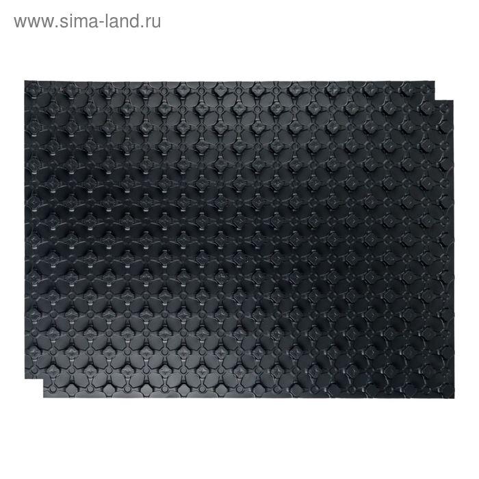 Маты STOUT, для теплого пола с бобышками, черный, 1100х800х20, SMF-0001-110802