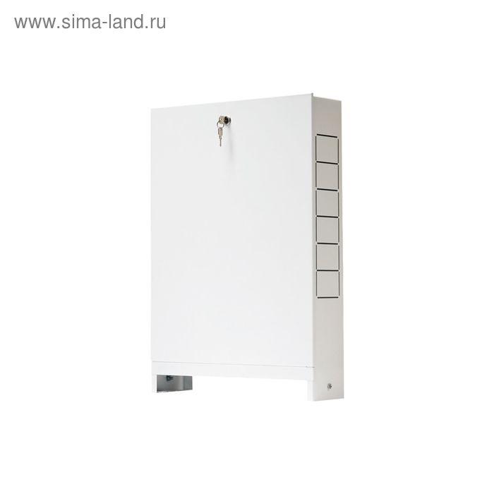 Шкаф распределительный STOUT, встроенный, 13-16 выходов, 670х125х1046, SCC-0002-001316