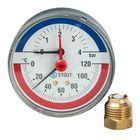 """Термоманометр STOUT, аксиальный, DN80, G1/2"""", SIM-0005-800415"""