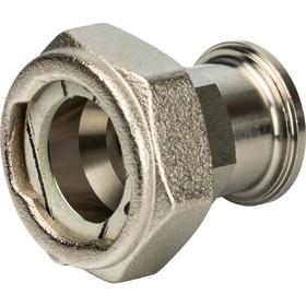 Разъемное соединение STOUT SDG-0019-020020, с плоским уплотнением и обратным клапаном, 3/4'   244355 Ош