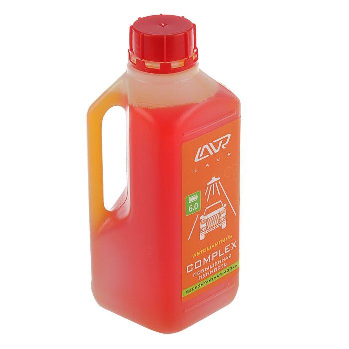 Автошампунь LAVR Complex бесконтакт, повышенная пенность 1:70, 1 л, бутылка Ln2321