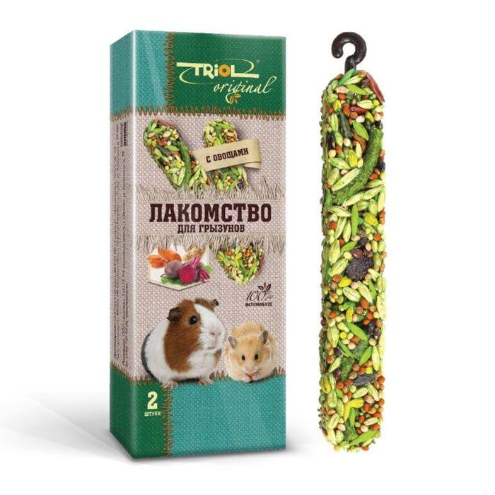 Лакомство Triol Original для грызунов, с овощами, 50 г