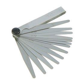 Щуп веерный 'СЕРВИС КЛЮЧ', 0,05-1,0 мм, 13 листов, в блистере Ош