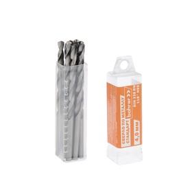 Сверло Bohrer 'Стандарт', по металлу, 4,0 мм HSS, (сталь 4341), DIN 338 Ош